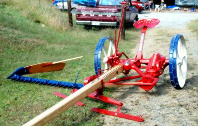 Dixieweb - Restoring a McCormick-Deering Horse-Drawn Mower
